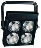 DWE blinder 4x 100w COB LED